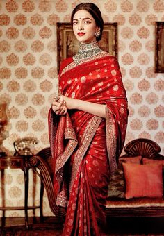 Your best stop for all updates related to the talented and stunning bollywood actress Deepika Padukone Sabyasachi Sarees, Indian Sarees, Anarkali, Lehenga Choli, Lehriya Saree, Banarsi Saree, Churidar, Saris, Beautiful Saree