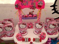 Hello Kitty Birthday Party Favors #hellokitty #partyfavors