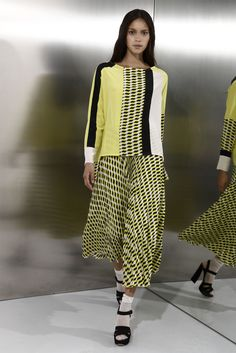MSGM - Pre-Spring 2012 - Shows - Vogue.it.  Look 51.