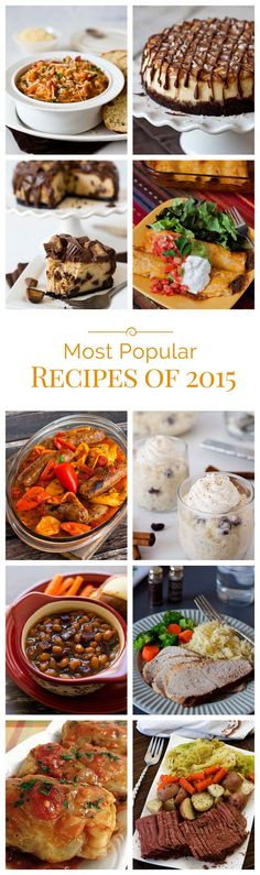 The most popular pressure cooking recipes of 2015 on Pressure Cooking Today.