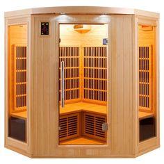 Sauna infrarouge APOLLON 3 à 4 places