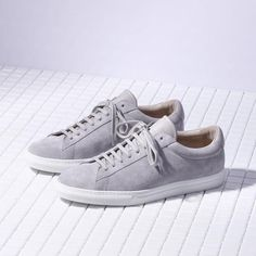 Grey Leather, Leather Men, Menswear, Sneakers, Shoes, Style, Fashion, Tennis, Swag