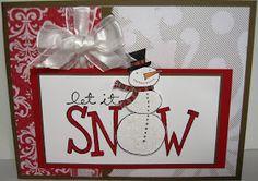 Big on Christmas and Snow Buddies stamp sets