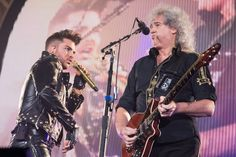 Queen and Adam Lambert perform live at the Metro Radio Arena in Newcastle 2015.1.13 www.chroniclelive.co.uk