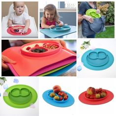Other Baby Feeding Silver Attractive And Durable Ezpz Mini Mat Pewter Feeding