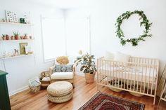 natural bohemian nursery