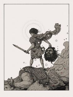 Image of 'GOLIATH' Limited Edition Screen Print.