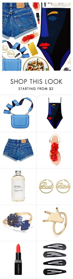 """""""Mama (feat. William Singe), Jonas Blue"""" by blendasantos ❤ liked on Polyvore featuring Mara Hoffman, Charlotte Olympia, me you, Banana Republic, Smashbox and Accessorize"""
