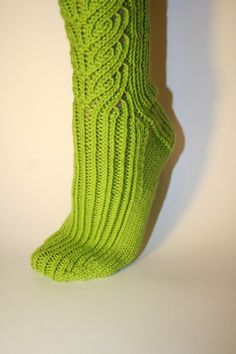 knee high socks  knitting pattern by AmandaLilleyDesigns on Etsy, $4.99