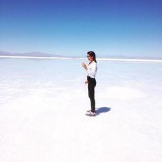 Salar de Atacama  #chile by danivillamyerr