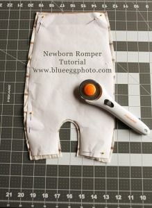 Newborn Romper Tutorial Prop Pattern