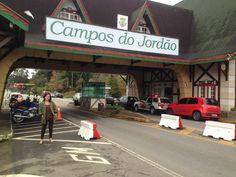 Portal de Campos do Jordão em Campos do Jordão, SP