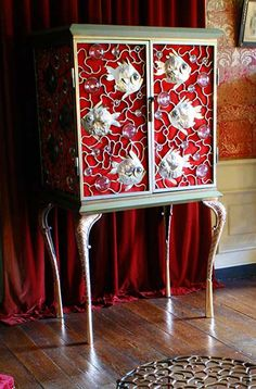 Mark Brazier Jones : Furniture : Cabinets : Fish Cabinet
