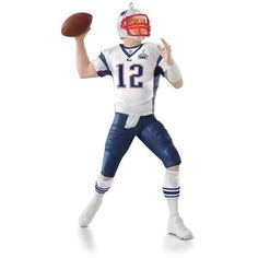 NFL New England Patriots Tom Brady Super Bowl 49 ornament!