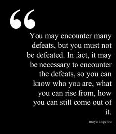 Maya Angelou Quote | The Book Habit