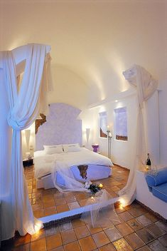 Astarte Suites: Honeymoon Destination in Santorini, Greece.  Santorini is one of the most beautiful places we have ever visited.  Would love to spend at least a month there.