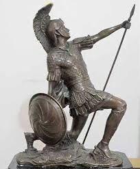 Gods of War: 7 Deities That Propagated Violent And Bloodthirsty Rituals Zeus And Hera, Son Of Zeus, God Of War, Zeus Statue, Roman Names, Love Symbols, Gods And Goddesses, Aphrodite, Deities