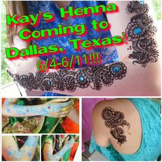 Last minute notice but Kay's Henna is still coming to DALLAS, TEXAS June 4th till June 11th!!!! Where are my lovely Texas fans/followers/customers?! Email, text, or direct message to get your henna done by me! Will have my signature mix of color gels and embellishments as well! (Normally used exclusively for my brides, but now for my DALLAS, TEXAS loves!  See you soon inshaAllah!  #kayshenna #kayweddings #texas #dallas #dallastexas #fans #henna #mehndi #shaadi #bridal