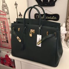 6308664725c Carbotti hand bag 40cm handbag. 100% leather. Brand new with tags. Open.  Poshmark