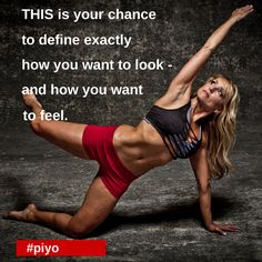 This is your chance to define exactly how you want to look - and how you want to feel. Piyo Challenge starting soon. Email us ladancefitstuio@gmail.com