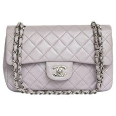 Pre-owned Chanel Timeless Leather Handbag (12.305 BRL) ❤ liked on Polyvore featuring bags, handbags, other, chanel, genuine leather purse, leather purses, genuine leather handbags and leather man bags