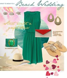 """""""What to Wear to a Beach Wedding"""" by dessaleaproductions on Polyvore"""