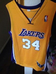 Shaquille Onea'l Lakers Jersey Adidas Clima Cool Size 52 from $39.99