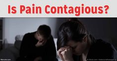Recent research shows that pain can spread among mice by way of smell, suggesting physical pain may be contagious, just like happiness. http://articles.mercola.com/sites/articles/archive/2016/11/03/pain-happiness-contagious.aspx