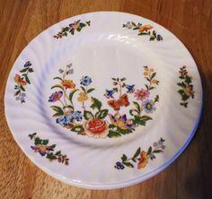 3 Vintage Aynsley Cottage Garden 6 3 8 B B Plates English Bone China Retired | eBay