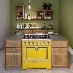 Cuisinière Fourneau Combiné Boisgazélectrique Cuisine - Cuisiniere pyrolyse pour idees de deco de cuisine