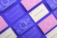 Personal Branding - Christina Gushcheva on Behance Self Promo, Presentation Layout, Creative Colour, Business Card Mock Up, Illustrations, Personal Branding, Fashion Branding, Graphic Design Inspiration, Visual Identity