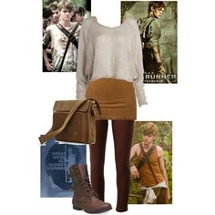 """Newt: The Maze Runner"" by user10101 on Polyvore"