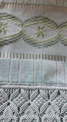Bordado Swedish Embroidery, Hardanger Embroidery, Hand Embroidery Stitches, Ribbon Embroidery, Cross Stitch Embroidery, Embroidery Patterns, Cross Stitch Patterns, Bargello Needlepoint, Bargello Patterns