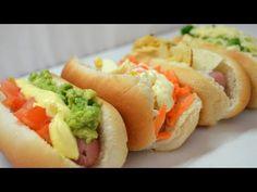 4 opciones de Hot Dogs - YouTube