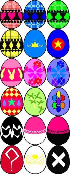 Shugo Chara eggs
