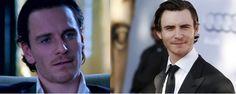 #separatedatbirth Michael Fassbender & Harry Lloyd #twins