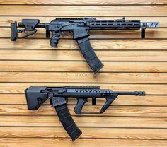 Customer wanted his to take the same magazines as his Kushnapup . Airsoft Guns, Weapons Guns, Guns And Ammo, Vepr 12, Tactical Shotgun, Assault Weapon, Submachine Gun, Hunting Rifles, Cool Guns