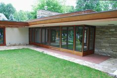 Alvin Miller House - Page 2 - Wright Chat Frank Lloyd Wright Style, Frank Lloyd Wright Buildings, Barbacoa, Concept Architecture, Architecture Design, Charles City Iowa, Building A Small House, Usonian House, Miller Homes