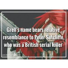 """Peter Sutcliffe is a British serial killer responsible for the death of thirteen women He is also known as """"The Yorkshire Ripper"""" Character : Grell Sutcliffe Anime : Black Butler"""