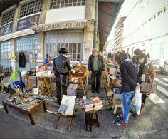Market thieves in Lisbon/ Flea market /Feira da Ladra