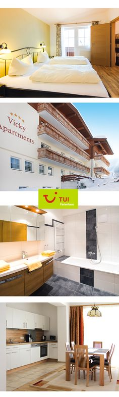 Sehr komfortable Wohlfühlappartements, sonnig und ruhig, nur wenige Meter vom Skilift und der Loipe entfernt, inmitten der Kitzbüheler Alpen (828 m ü.M.).
