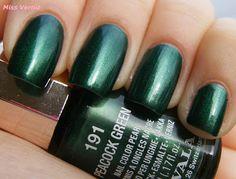 MavalaPeacock Green| #EssentialBeautySwatches | BeautyBay.com