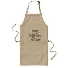 Please,Don't Kiss The Cook aprin Long Apron