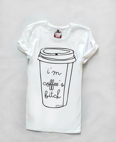 Hey, I found this really awesome Etsy listing at https://www.etsy.com/listing/190010280/white-t-shirt-with-print-im-coffees-b