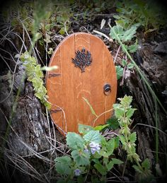 Fairy garden door by WarmWeenies.etsy.com