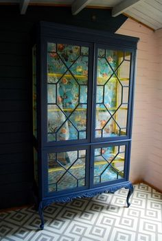Be inspired by some of our favourite items of painted furniture that have left the Orange Otter workshop. Wooden Case, Wooden Watch, Painting Bookcase, Painted China Cabinets, Cabinet Inspiration, Painted Furniture, Refinished Furniture, Cabinet Colors, Furniture Projects