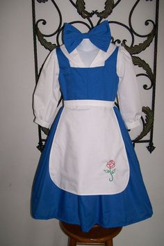 Beauty and the Beast Provincial Belle Blue by pixiedustboutiquee