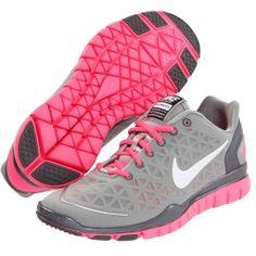 Nike - Free TR Fit 2 (Metallic Silver/Pink Flash/Metallic Cool Grey/White) - Footwear   www.grabevery.com