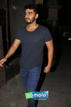 Arjun Kapoor snapped in Bandra, Mumbai