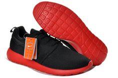 huge discount 88fe7 6b286 Discount Nike Air Max 2015   Cheap Nike Flyknit Running Shoe Nike Roshe Run  Mens Black Red Mesh Shoes   - Nike Roshe Run Mens Black Red Mesh Shoes